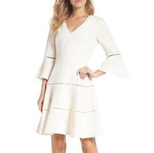 Eliza J Lace Fit & Flare Dress Size 10